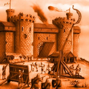 King John's Medieval Castle Attack